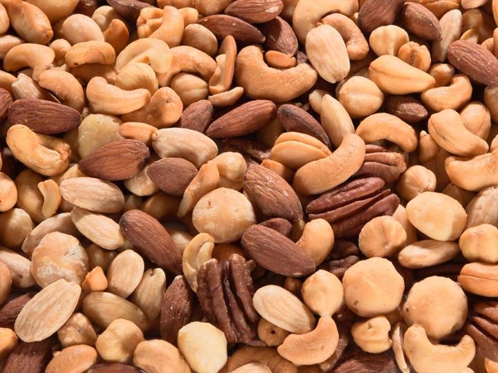 Geroosterde noten & mixen